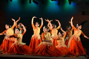 Performing Kathak Dance on Stage
