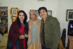 With Pundit Birju Maharaj