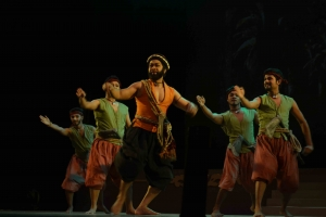 Shibli Performing in Dance Drama Ali Baba