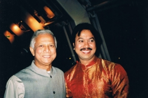 With Nobel Peace Prize winner, Dr Muhammad Yunus, Oslo, 2006